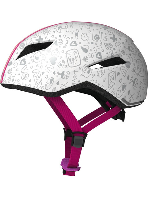 ABUS Yadd-I Kid Helmet white crush